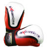 Semikontakt Handschuhe aus DX in rot/weiß