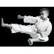 Karate Anzug 45% Polyester / 55% Colton + weißer Gürtel