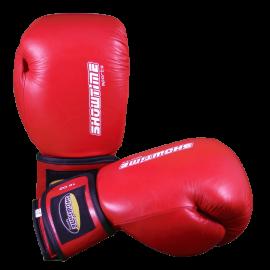 Boxhandschuhe aus echtem Leder in Rot
