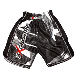 "K-1 Short in Satin ""Camo-Mesh"""