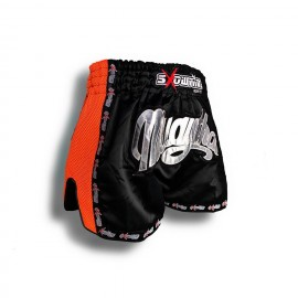 "K-1 Thaiboxing Short in Satin ""Mesh"