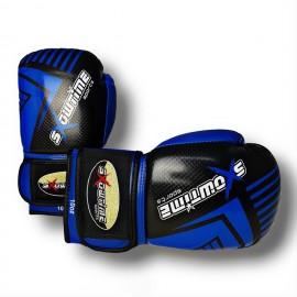 Boxhandschuhe Diamond - schwarz/blau