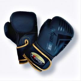 Boxhandschuhe aus echtem Leder 6Oz Juniors / Bambinos in Blau
