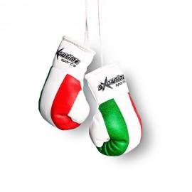 Mini Boxhandschuhe italienische Flagge