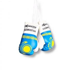Mini Boxhandschuhe Kasachstan Flagge