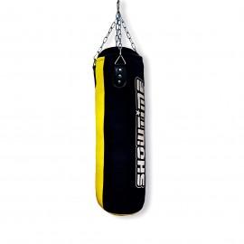 Sandsack aus Nylon Gefüllt mit Kette in Schwarz/Gelb